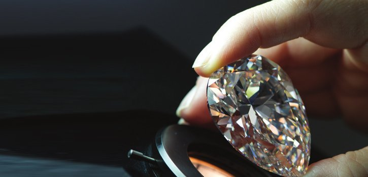 Harrods present rare diamond