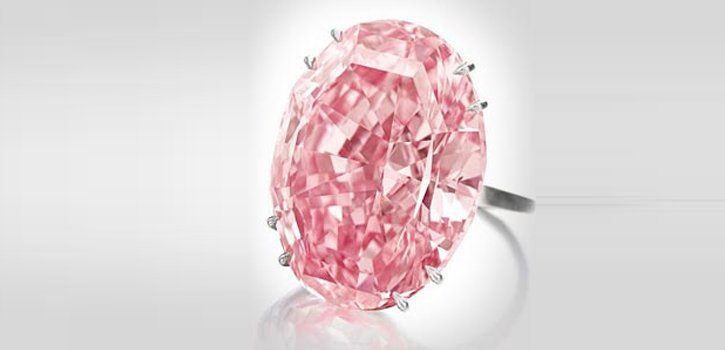 Sotheby's unveil The Pink Star Diamond