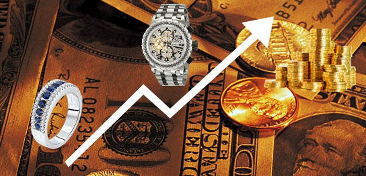 How the current market value of Jewellery and expensive watches affects the value of your own luxury watches and jewellery ?